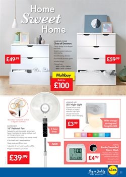 Furniture offers in the Lidl catalogue in Aberdeen