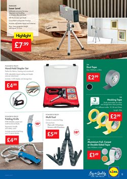 Carpet offers in the Lidl catalogue in London