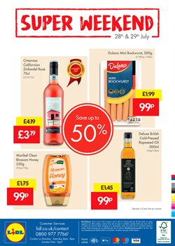 Oil offers in the Lidl catalogue in York