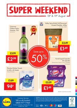 Food offers in the Lidl catalogue in Liverpool