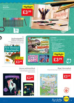 Dinosaurs offers in the Lidl catalogue in London