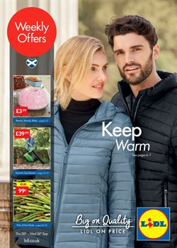 Lidl offers in the Aberdeen catalogue