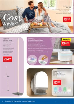 Bed offers in the Lidl catalogue in Reading