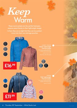 Jacket offers in the Lidl catalogue in Leicester