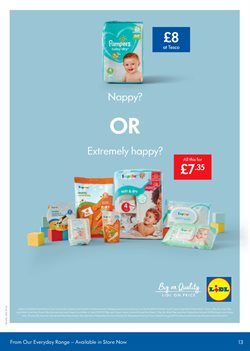 Baby offers in the Lidl catalogue in London
