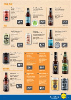 Beer offers in the Lidl catalogue in London
