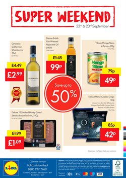 Food offers in the Lidl catalogue in Widnes