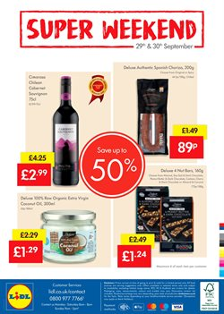 Chocolate offers in the Lidl catalogue in York