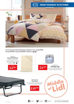 Bed offers in the Lidl catalogue in London