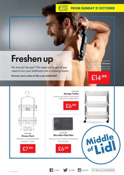 Suitcase offers in the Lidl catalogue in London