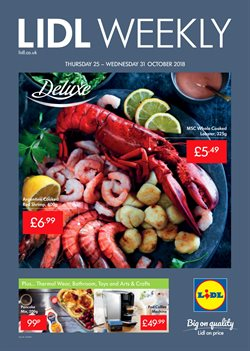 Supermarkets offers in the Lidl catalogue in Bushey