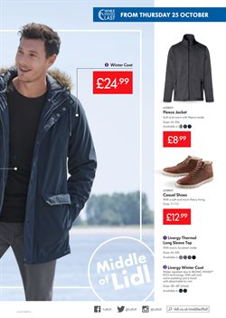 Coat offers in the Lidl catalogue in London
