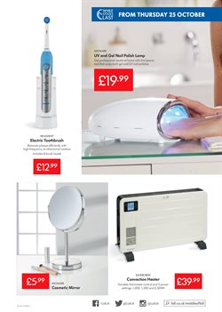 Lamp offers in the Lidl catalogue in Worthing