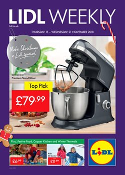 Lidl offers in the London catalogue