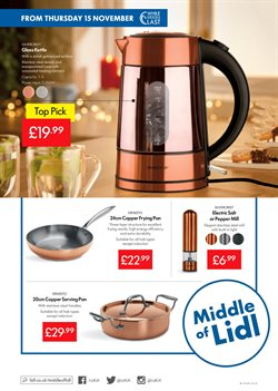 Kettle offers in the Lidl catalogue in Barking-Dagenham