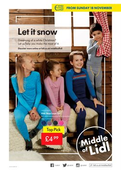 Bedroom offers in the Lidl catalogue in London