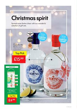 Liqueur offers in the Lidl catalogue in London