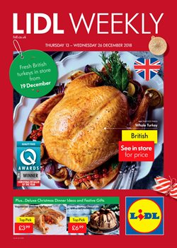 Christmas offers in the Lidl catalogue in Coventry