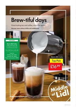 Coffee offers in the Lidl catalogue in London