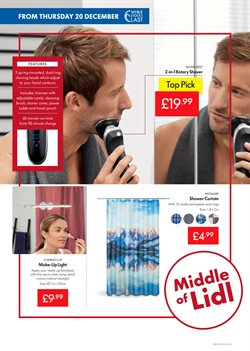 Shower offers in the Lidl catalogue in Stoke-on-Trent