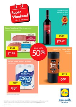Towels offers in the Lidl catalogue in London