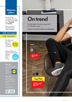 Shoes offers in the Lidl catalogue in Leicester
