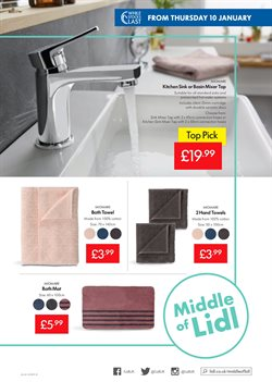 Bath offers in the Lidl catalogue in London