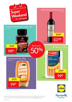 Coffee offers in the Lidl catalogue in Cheltenham