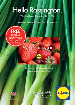 Supermarkets offers in the Lidl catalogue in York