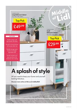 Storage offers in the Lidl catalogue in Glasgow