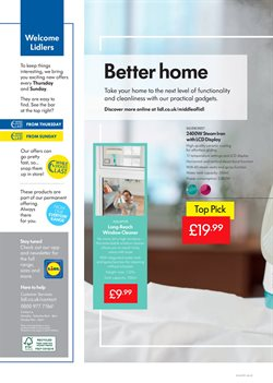 Water offers in the Lidl catalogue in London