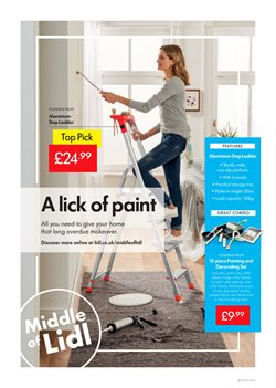 Canvas offers in the Lidl catalogue in London