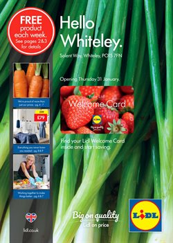 Lidl offers in the Reading catalogue