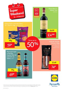 Beer offers in the Lidl catalogue in Widnes