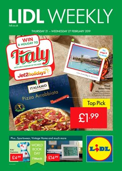 Ready meals offers in the Lidl catalogue in Leicester