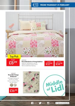 Bedding offers in the Lidl catalogue in London