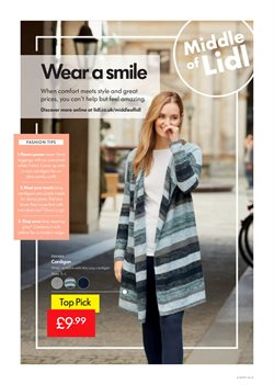 Clothing offers in the Lidl catalogue in Middlesbrough