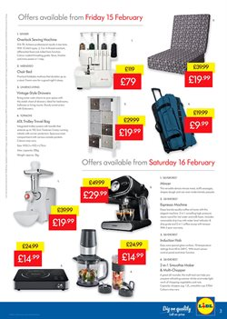 Washing machine offers in the Lidl catalogue in London