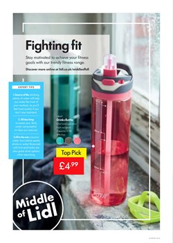 Water offers in the Lidl catalogue in Aberdeen