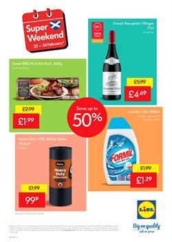 Gel offers in the Lidl catalogue in Aberdeen
