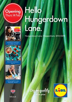 Supermarkets offers in the Lidl catalogue in Cheltenham