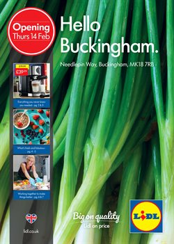 Lidl offers in the Leicester catalogue