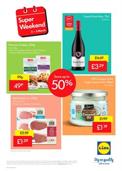 Food offers in the Lidl catalogue in York