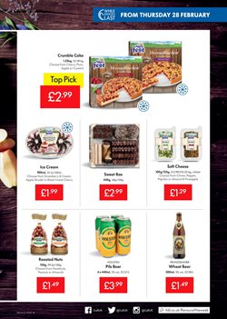 Cake offers in the Lidl catalogue in London