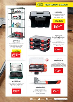 Shelving offers in the Lidl catalogue in London