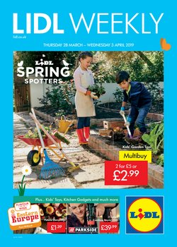 Supermarkets offers in the Lidl catalogue in Leicester