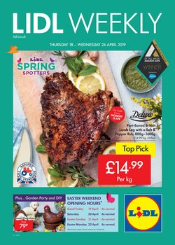 Supermarkets offers in the Lidl catalogue in Aberdeen