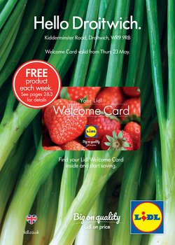 Supermarkets offers in the Lidl catalogue in Cannock