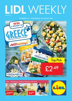 Supermarkets offers in the Lidl catalogue in Hammersmith