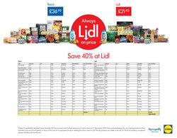 Supermarkets offers in the Lidl catalogue in Liverpool